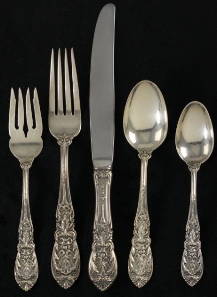 "272: International Sterling Flatware ""Richelieu"""