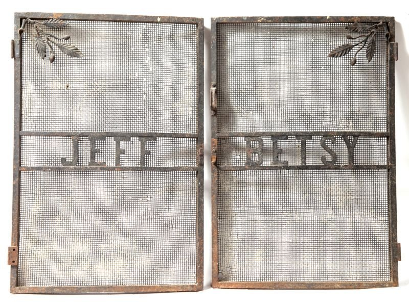 281: Betsy-Jeff Fireplace Screen