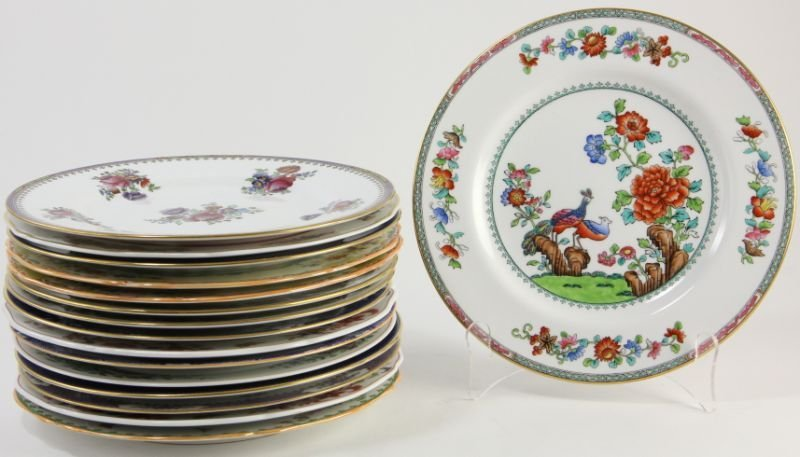 286: Collection of (16) Spode Copeland Dinner Plates