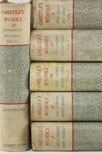 381: The Parchment Edition of Thomas Carlyle's Works - 6