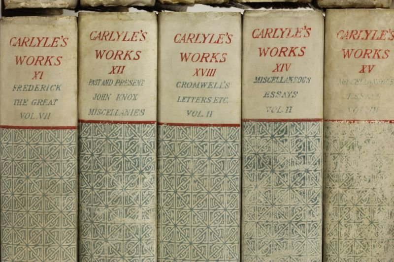 381: The Parchment Edition of Thomas Carlyle's Works - 7