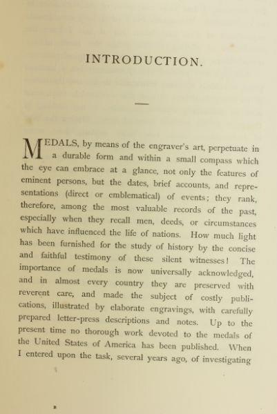 437: Centennial Book on American Medals - 3