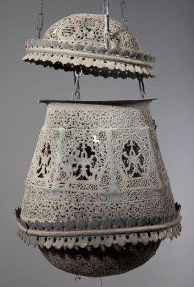 616: Nepalese Bronze Lantern