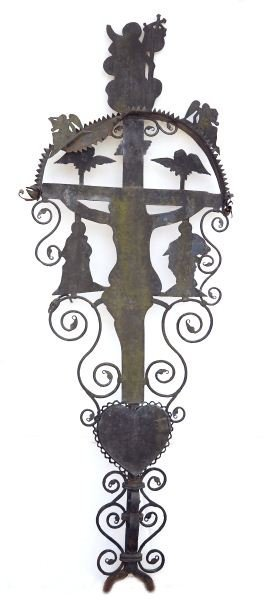 Spanish Wrought Iron Cross