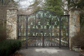 The Chinqua Penn Wrought Iron Entrance Gates
