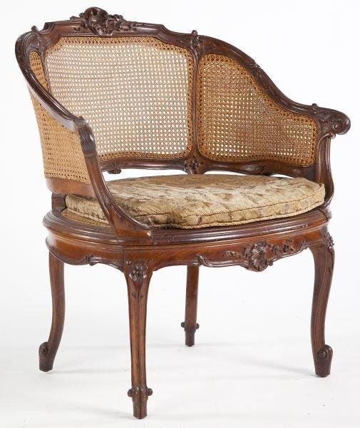 693: Louis XV Style Bergere
