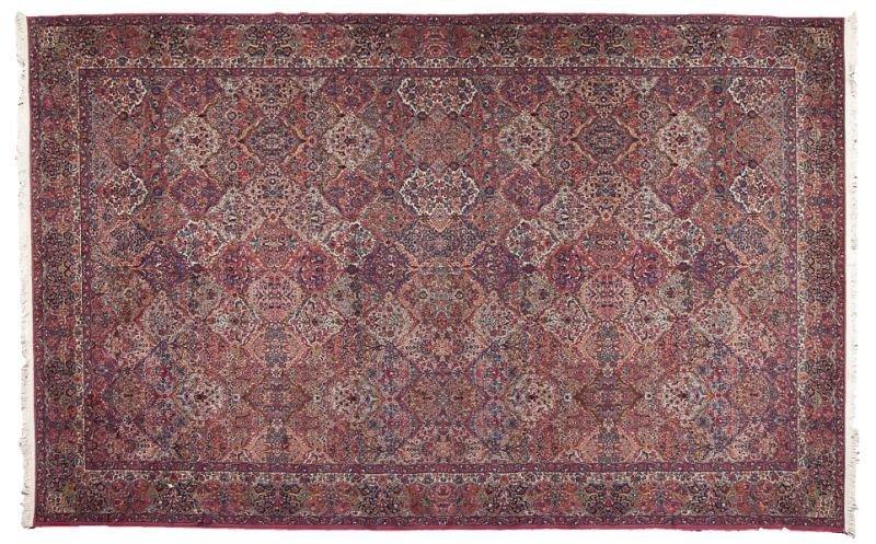 698: Karastan Kirman Style Rug