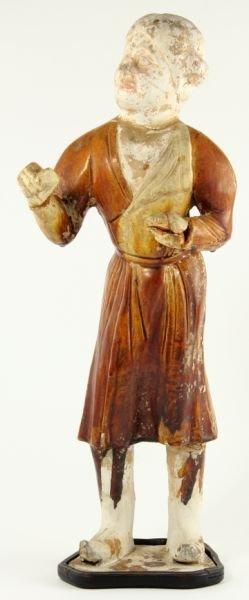 705: Terra Cotta Chinese Camel Boy