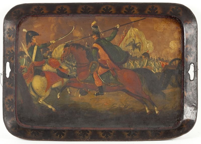 765: Late George III Tole Tray