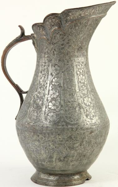 775: Persian Hand Made Pitcher