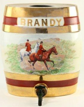 Tunstall Brandy Keg