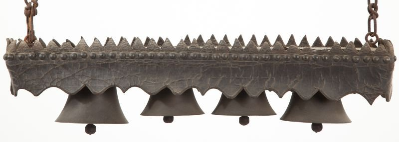 801: Set of Four Russian Bronze Bells