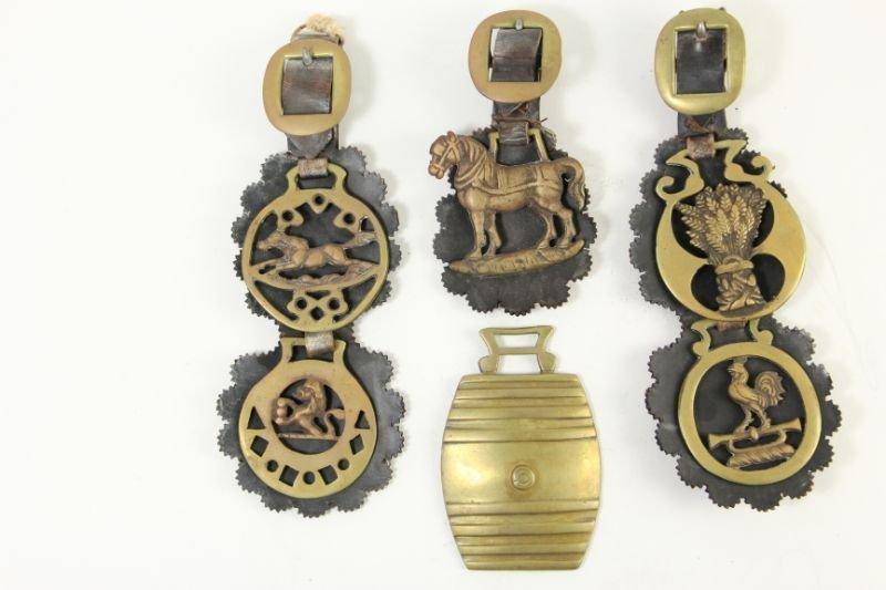 812: Set of Horse Brasses