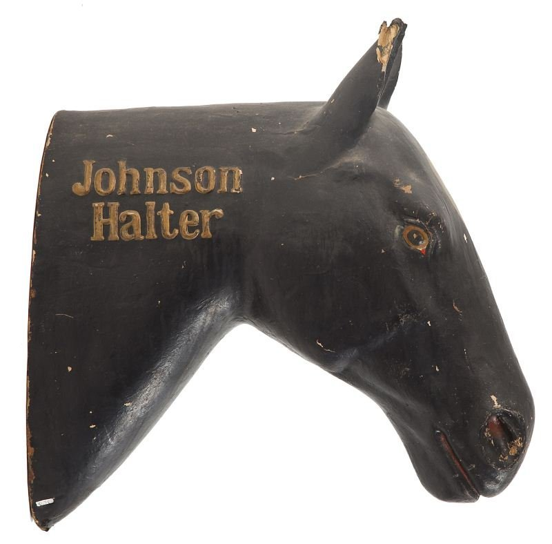814: Tavern Advertising Sign of Horse Head
