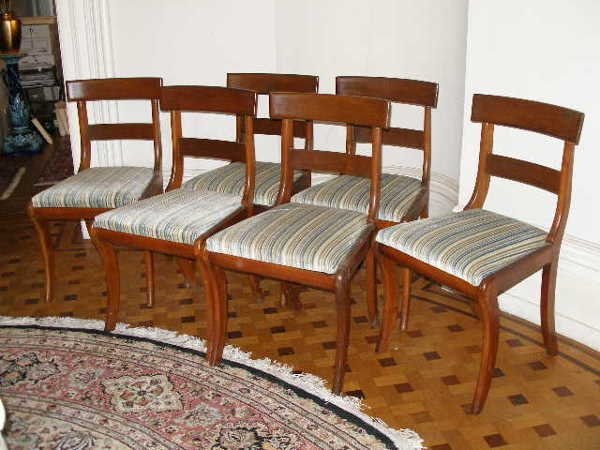 2004: Set of Six Neo-Classical Chairs,