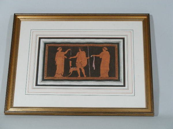 2007: Four 18th c. Grecian Copper Engravings,