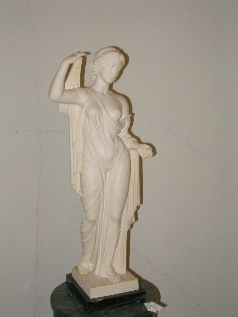 2009: Four Reproduction Classical Statues,