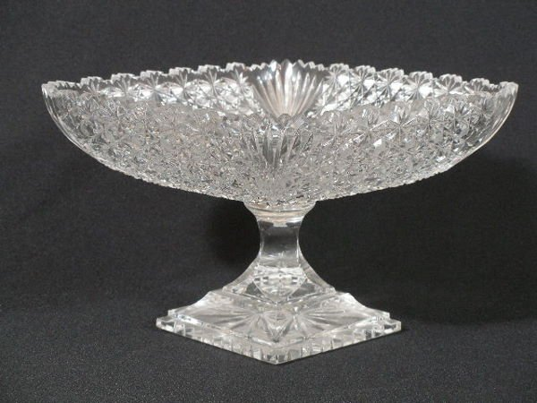 2023: Cut Glass Compote,