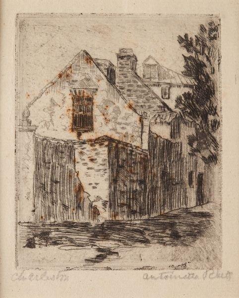 """121: Antoinette Rhett (SC, 1884-1964), """"Charleston"""""""