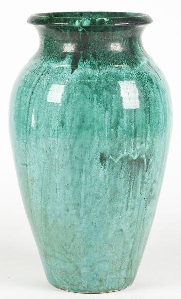 126: NC Pottery Floor Vase, att. J.B. Cole