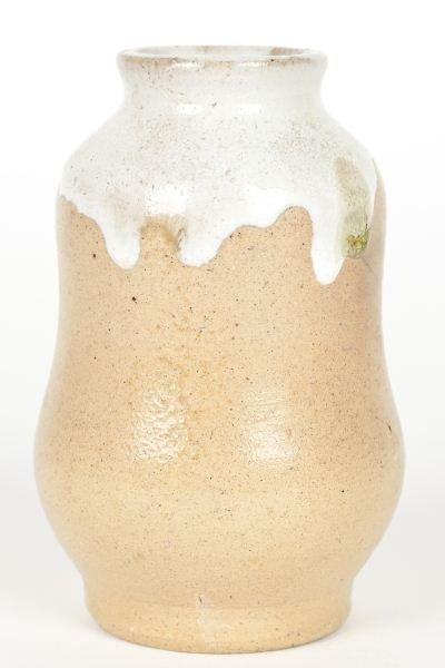 135: NC Pottery Jugtown Gourd Vase