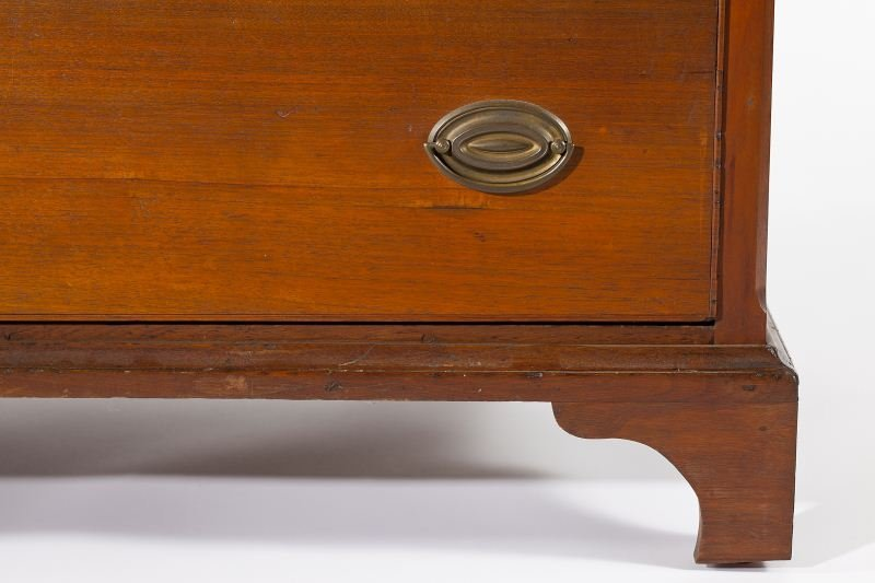 141: Southern Chippendale Chest of Drawers - 4
