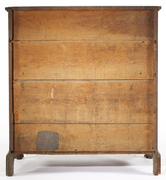 141: Southern Chippendale Chest of Drawers - 5