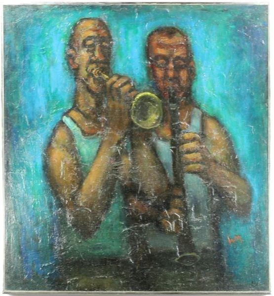 163: William G. Mangum (NC, b. 1924), Jazz Artists