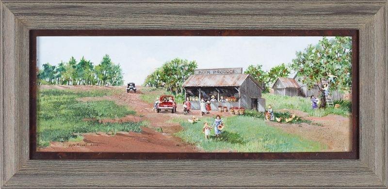 166: Ann Mount (GA), Farm Produce Stand