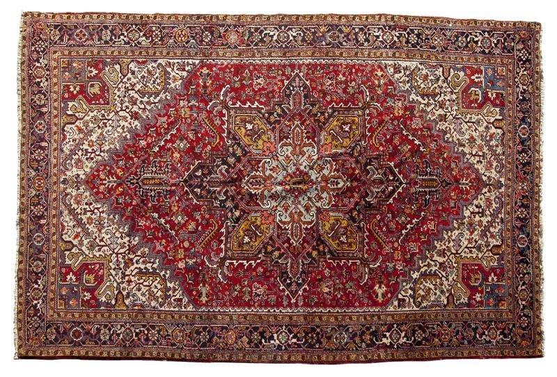 179: Room Size Heriz Carpet