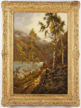 Theodore Hines (Br., Fl.1876-1889), Loch Maree