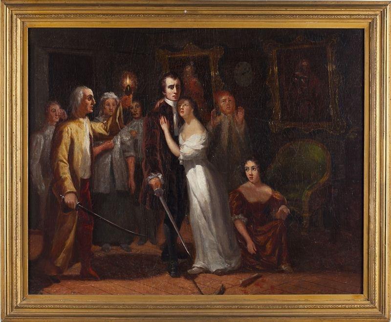 418: English School Genre Painting, 19th century