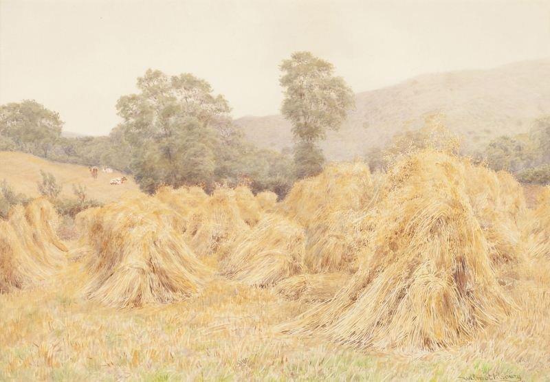420: Wilmot Pilsbury (Br., 1840-1908), Haystacks