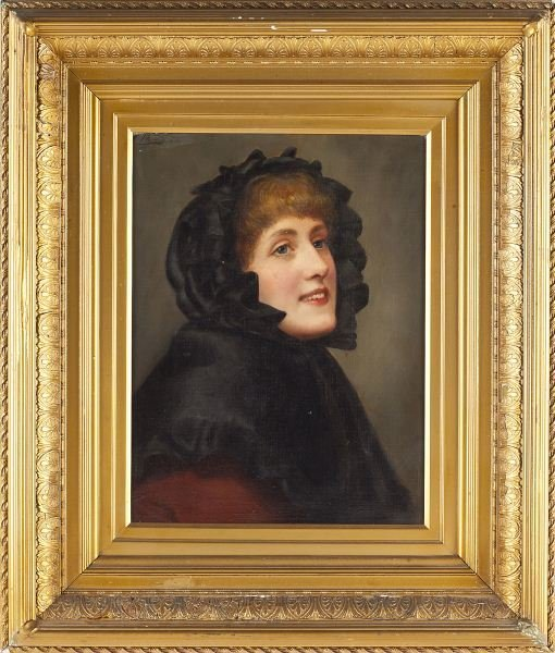 422: Frank Markham Skipworth (Br., 1854-1929), Portrait