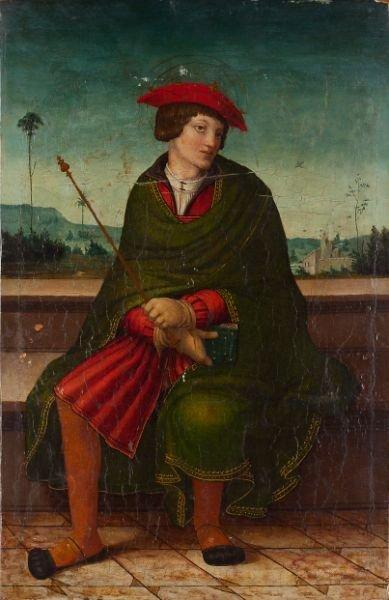 426: Pair of Italian Old Master Paintings, 16th century - 2