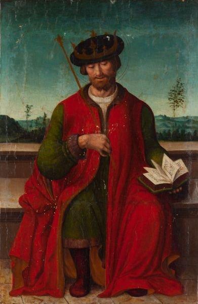 426: Pair of Italian Old Master Paintings, 16th century - 4