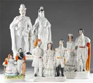 515 Group of Staffordshire Historical and Royal