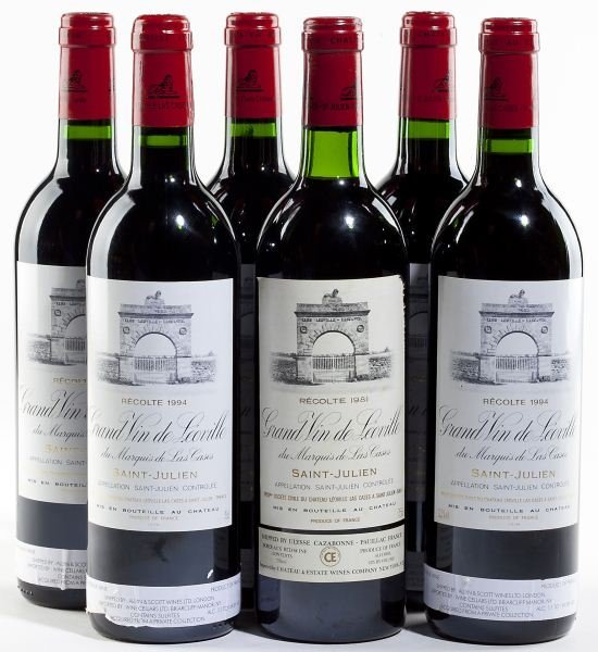 2072: 1994 & 1981 Chateau Leoville Las Cases