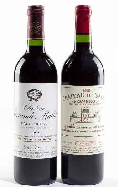 2154: 1998 Chateau de Sales & 1995 Sociando Mallet