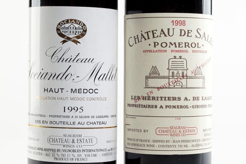 2154: 1998 Chateau de Sales & 1995 Sociando Mallet - 2