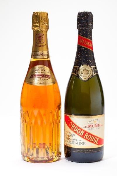 3009: 1989 GH Mumm & 1988 Heidsieck Champagne