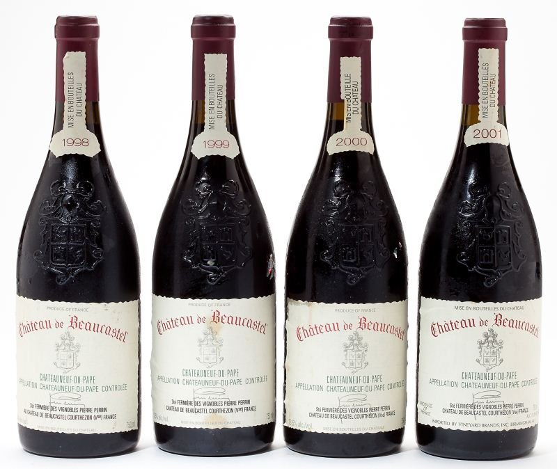 3201: 1998, 1999, 2000 & 2001 Chateauneuf du Pape