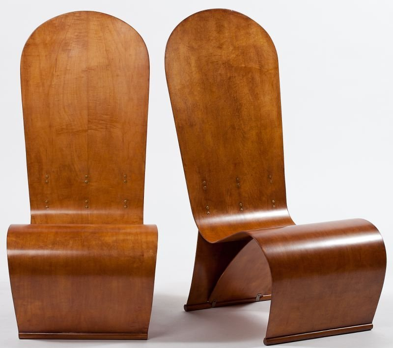 118: Herbert von Thaden (Am.,1898 - 1969) Lounge Chairs