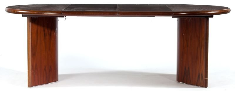 127: Danish Modern Rosewood Extension Table