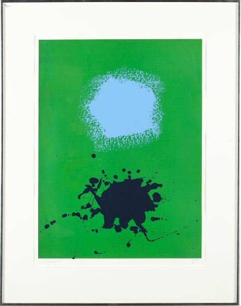 "139: Adolph Gottlieb (NY, 1903-1973), ""Blues on Greens"""