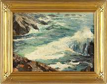 242: att. Emile Gruppe (MA, 1896-1978), Bass Rocks