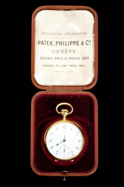 369: Patek Philippe Pocket Watch / Galt & Bros.