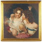 """407: after Sir Thomas Lawrence, """"The Calmady Children"""""""