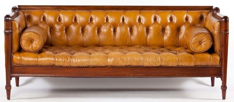 541: Edwardian Style Chesterfield Sofa