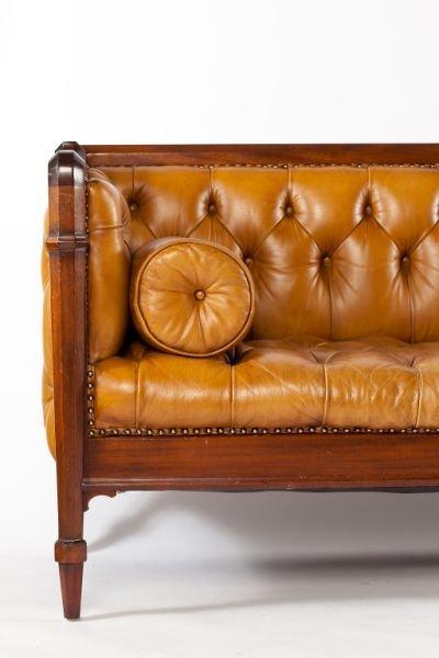 541: Edwardian Style Chesterfield Sofa - 2
